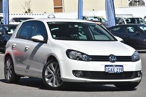 2012 Volkswagen Golf VI MY12.5 118TSI DSG Comfortline White 7 Speed Sports Automatic Dual Clutch Maylands Bayswater Area Preview