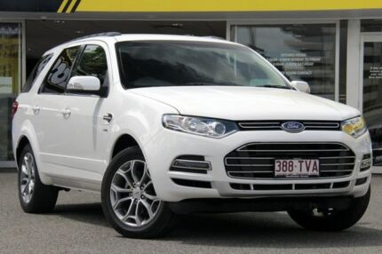 2012 Ford Territory SZ Titanium Seq Sport Shift AWD White 6 Speed Sports Automatic Wagon Woolloongabba Brisbane South West Preview