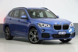 2017 BMW X1 F48 MY17 sDrive 20I Estoril Blue 8 Speed Automatic Wagon