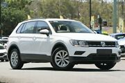 2017 Volkswagen Tiguan 5N MY17 110TSI DSG 2WD Trendline Silver 6 Speed Sports Automatic Dual Clutch Indooroopilly Brisbane South West Preview