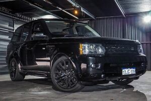 2010 Land Rover Range Rover Sport L320 10MY TDV6 Black 6 Speed Sports Automatic Wagon Wangara Wanneroo Area Preview
