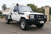 2011 Toyota Landcruiser VDJ79R 09 Upgrade Workmate (4x4) White 5 Speed Manual Cab Chassis Blair Athol Port Adelaide Area Preview