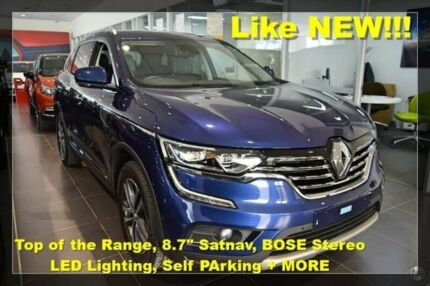 2016 Renault Koleos HZG Intens X-tronic Blue 1 Speed Constant Variable Wagon