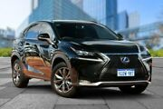 2014 Lexus NX AYZ15R NX300h E-CVT AWD F Sport Black 6 Speed Constant Variable Wagon Hybrid Myaree Melville Area Preview