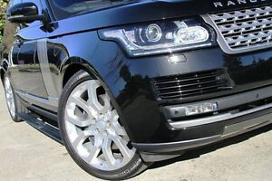 2015 Land Rover Range Rover LG MY16 Vogue V6 SC Black 8 Speed Automatic Wagon Petersham Marrickville Area Preview