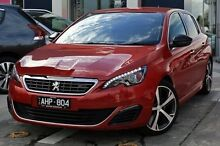 2015 Peugeot 308 T9 GT Red 6 Speed Manual Hatchback Cheltenham Kingston Area Preview