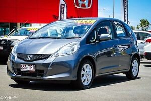 2013 Honda Jazz GE MY13 Vibe Grey 5 Speed Automatic Hatchback Garbutt Townsville City Preview