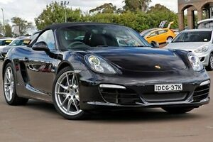 2013 Porsche Boxster 981 PDK Black 7 Speed Sports Automatic Dual Clutch Convertible McGraths Hill Hawkesbury Area Preview