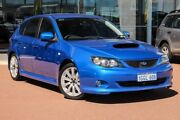 2008 Subaru Impreza G3 MY08 WRX AWD Blue 5 Speed Manual Hatchback Osborne Park Stirling Area Preview