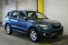 2012 Hyundai Santa Fe CM MY12 SLX Blue 6 Speed Sports Automatic Wagon Wayville Unley Area Preview