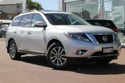 2013 Nissan Pathfinder R52 MY14 ST-L X-tronic 4WD Silver 1 Speed Constant Variable Wagon Clarkson Wanneroo Area Preview