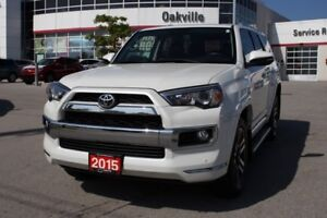 2015 Toyota 4Runner Limited 7 Pass. w/Navigation, Moonroof & Lea