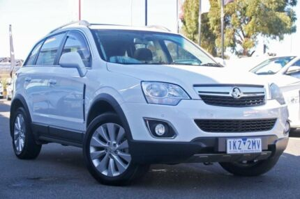 2015 Holden Captiva CG MY15 5 LT Glacier White 6 Speed Sports Automatic Wagon