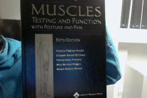 MUSCLES testing and Function with Posture and Pain, 5th ed. NEW Kitchener / Waterloo Kitchener Area image 1