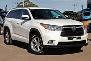 2015 Toyota Kluger GSU50R GXL 2WD White 6 Speed Sports Automatic Wagon McGraths Hill Hawkesbury Area Preview