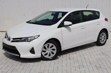 2014 Toyota Corolla ZRE182R Ascent S-CVT White 7 Speed Constant Variable Hatchback Embleton Bayswater Area Preview