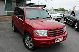 2002 Mitsubishi Pajero IO QA MY2002 Red 5 Speed Manual Wagon Wakerley Brisbane South East Preview