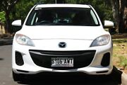 2013 Mazda 3 BL10F2 MY13 Neo White 6 Speed Manual Hatchback Hawthorn Mitcham Area Preview