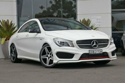 2015 Mercedes-Benz CLA250 C117 805+055MY Sport DCT 4MATIC White 7 Speed Sports Automatic Dual Clutch Sutherland Sutherland Area Preview