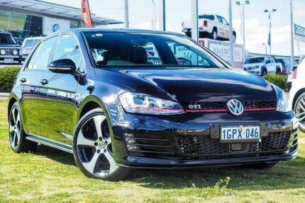 2017 Volkswagen Golf VII MY17 GTI DSG Black 6 Speed Sports Automatic Dual Clutch Hatchback Wangara Wanneroo Area Preview