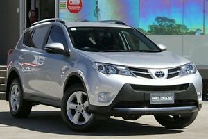 2013 Toyota RAV4 ASA44R GXL (4x4) Silver Pearl 6 Speed Automatic Wagon Old Guildford Fairfield Area Preview