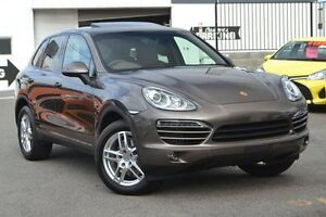 2014 Porsche Cayenne 92A MY14 Diesel Tiptronic Umber 8 Speed Sports Automatic Wagon Claremont Nedlands Area Preview