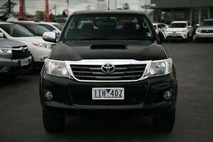 2012 Toyota Hilux Black Manual Utility Frankston Frankston Area Preview