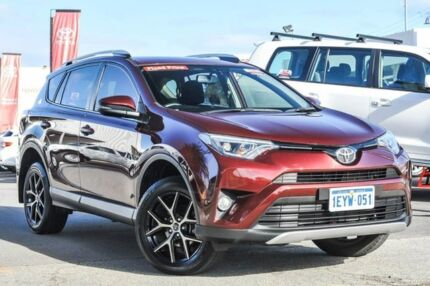 2016 Toyota RAV4 ASA44R GXL AWD Deep Red 6 Speed Sports Automatic Wagon Osborne Park Stirling Area Preview