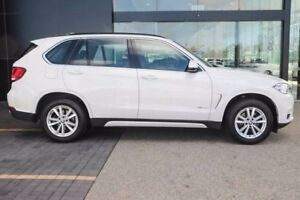 2014 BMW X5 F15 sDrive25d White 8 Speed Automatic Wagon
