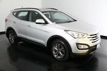 2015 Hyundai Santa Fe DM2 MY15 Active Sleek Silver 6 Speed Sports Automatic Wagon Welshpool Canning Area Preview