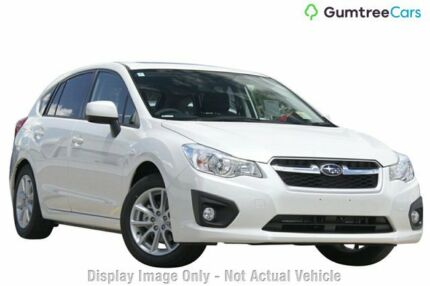 2014 Subaru Impreza G4 MY14 2.0i-L Lineartronic AWD White 6 Speed Constant Variable Hatchback