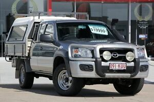 2007 Mazda BT-50 UNY0E3 DX+ Freestyle Grey 5 Speed Manual Cab Chassis Kippa-ring Redcliffe Area Preview