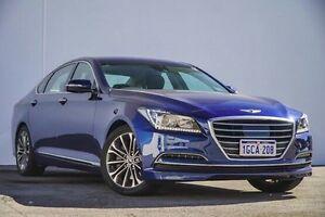 2016 Hyundai Genesis DH Blue 8 Speed Sports Automatic Sedan Bellevue Swan Area Preview