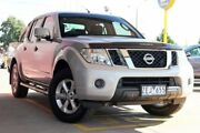 2012 Nissan Navara D40 S6 MY12 ST Silver 6 Speed Manual Utility Dandenong Greater Dandenong Preview