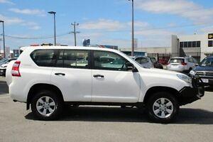 2014 Toyota Landcruiser Prado White Sports Automatic Wagon St James Victoria Park Area Preview