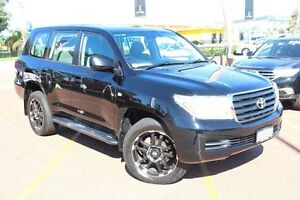 2008 Toyota Landcruiser VDJ200R GXL Black 6 Speed Sports Automatic Wagon Westminster Stirling Area Preview