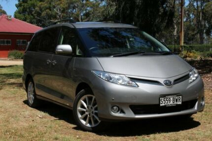 2015 Toyota Tarago ACR50R MY13 GLX Silver 7 Speed Constant Variable Wagon Wayville Unley Area Preview