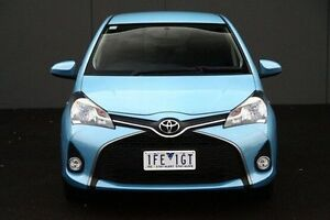 2015 Toyota Yaris Blue Automatic Hatchback Cranbourne Casey Area Preview