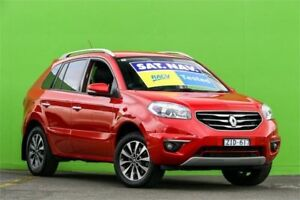 2012 Renault Koleos H45 Phase II Dynamique Red 1 Speed Constant Variable Wagon Ringwood East Maroondah Area Preview