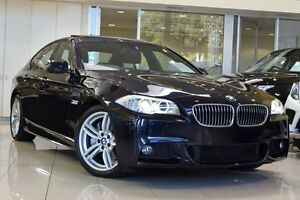 2013 BMW 535D F10 LCI M Sport Steptronic Navy Blue 8 Speed Sports Automatic Sedan Artarmon Willoughby Area Preview