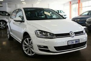 2015 Volkswagen Golf VII MY15 103TSI DSG Highline White 7 Speed Sports Automatic Dual Clutch Frankston Frankston Area Preview