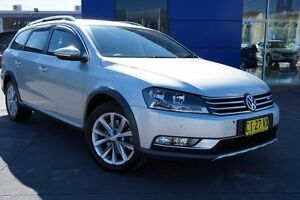 2014 Volkswagen Passat Type 3C MY15 Alltrack DSG 4MOTION Silver 6 Speed Sports Automatic Dual Clutch Pearce Woden Valley Preview