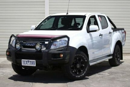 2017 Isuzu D Max My14 Sx Crew Cab White 5 Sd Sports Automatic Utility