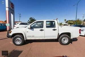 2010 Holden Colorado RC MY10 LX Crew Cab White 4 Speed Automatic Utility Alfred Cove Melville Area Preview