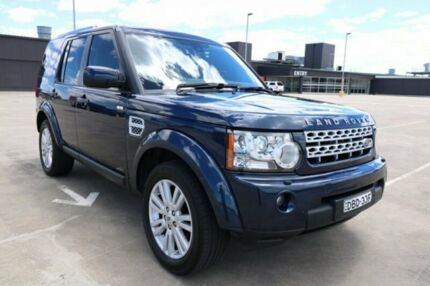 2012 Land Rover Discovery 4 Series 4 MY12 SDV6 CommandShift SE Dark Blue 6 Speed Sports Automatic