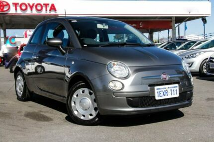 2015 Fiat 500 MY14 POP Grey 5 Speed Automatic Hatchback Osborne Park Stirling Area Preview
