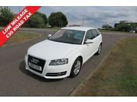 AUDI A3 A3 SE 1.6 SE,2010 ,LOW MILEAGE,ALLOYS,AIR CON,Service Record,£30 Road Tax,Very Clean Vehicle