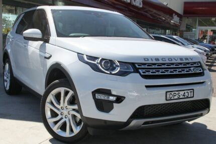 2016 Land Rover Discovery MY17 SD4 HSE Luxury White 8 Speed Automatic Wagon