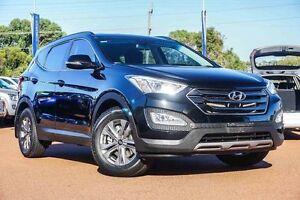 2015 Hyundai Santa Fe DM2 MY15 Active Black 6 Speed Sports Automatic Wagon Wangara Wanneroo Area Preview