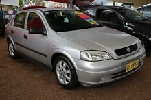 2005 Holden Astra TS MY05 Classic Silver 4 Speed Automatic Sedan Colyton Penrith Area Preview